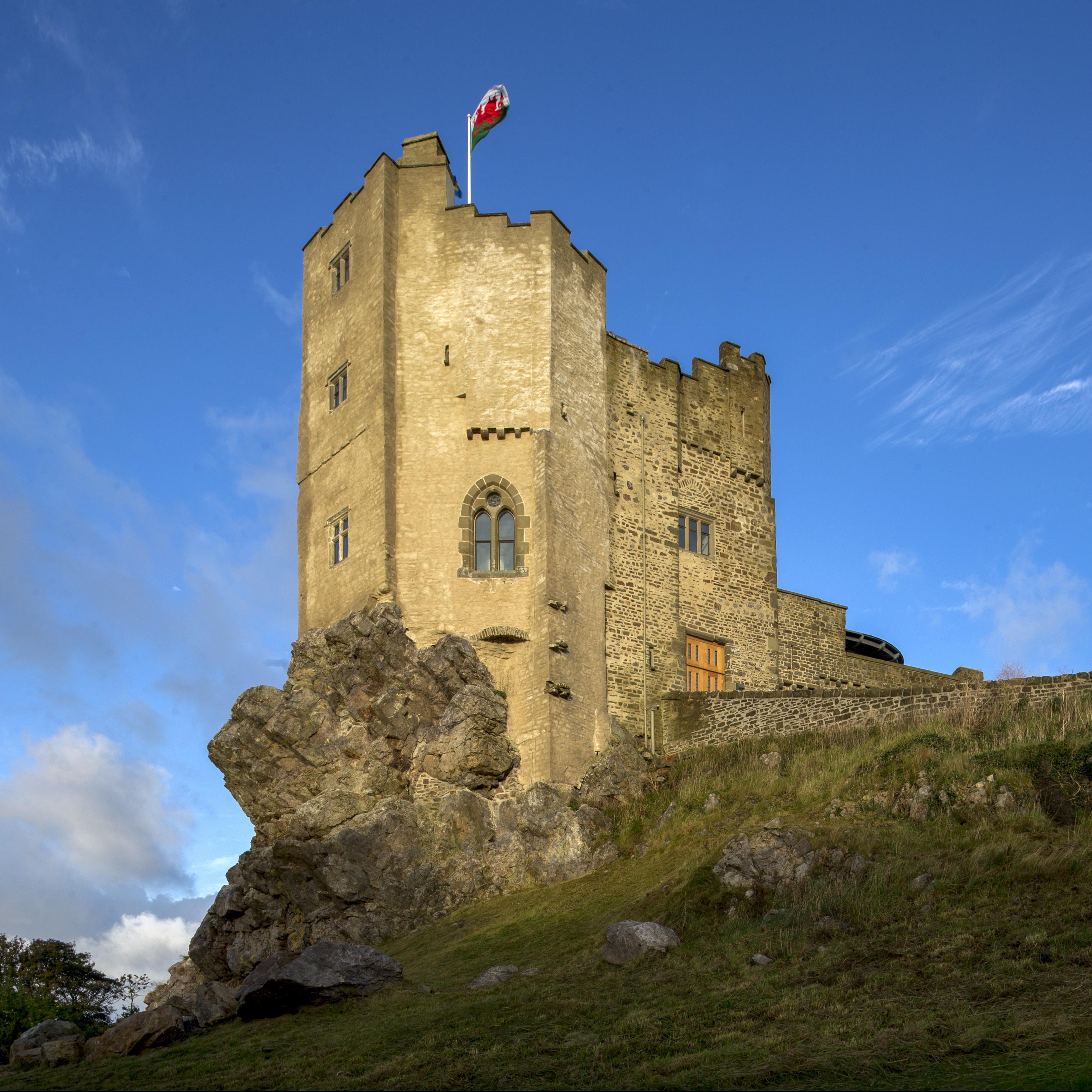 St. Davids, Wales. Roch Castle